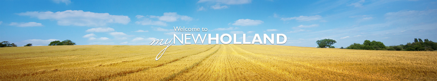Welcome to My New Holland